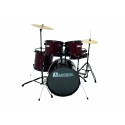 Dimavery DS-200 Drum-Set - vínový